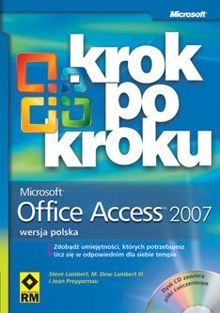 Microsoft Office Access 2007 krok po kroku