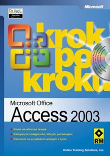 Microsoft Office Access 2003 krok po kroku